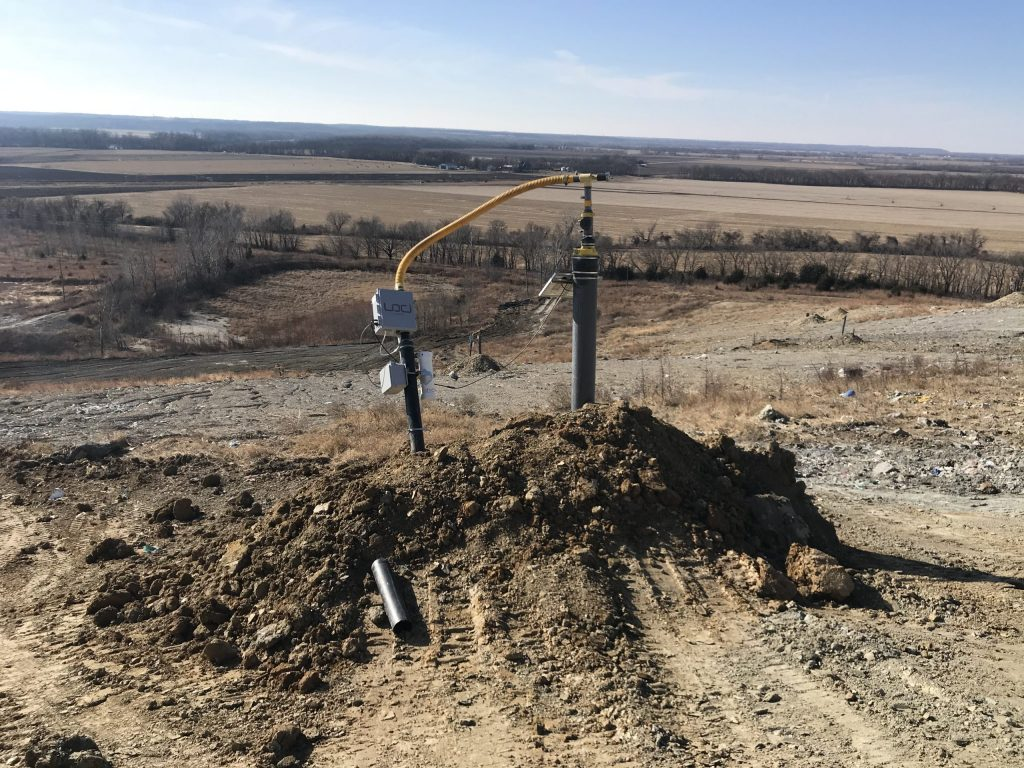 municipal landfill gas collection system expansion