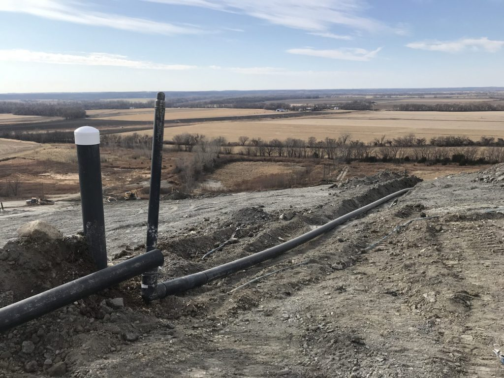 msw landfill gas collection system expansion